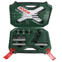 KIT BROCA E BITS 60 PC CX.VD BOSCH - PC